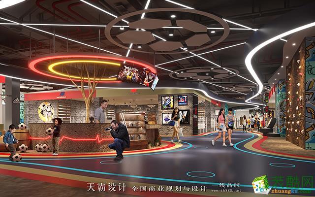 天霸设计创作山西商场装修设计效果图落实到细节