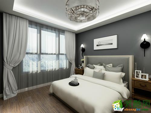 西安九朝装饰-现代简约两居室装修效果图