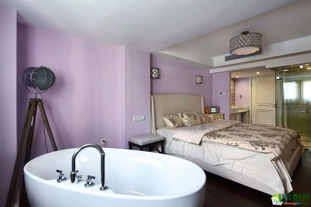 南熙福邸裝修,混搭風格125平 萌妹主人竟要求主臥帶浴缸