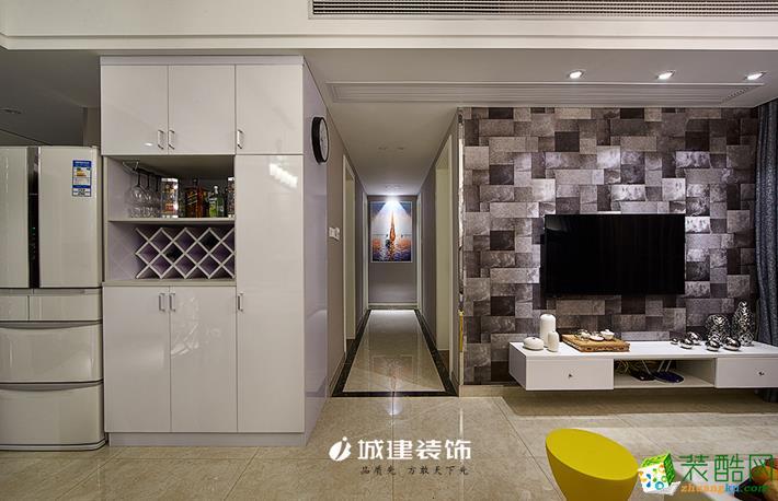 城建装饰―龙湖艳澜山80�O现代风格案例