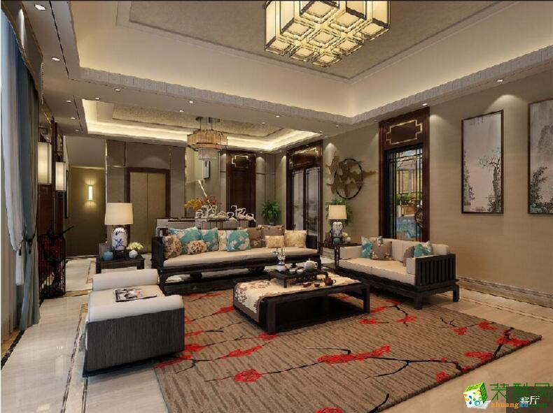 【业之峰装饰】美式别墅住宅装修案例