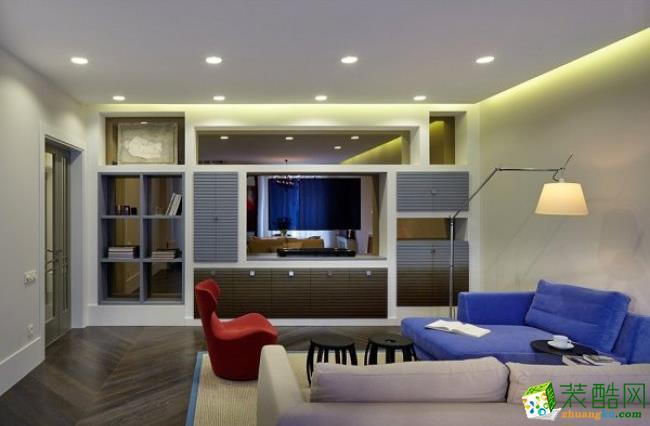 西安兴唐装饰-混搭两居室装修效果图