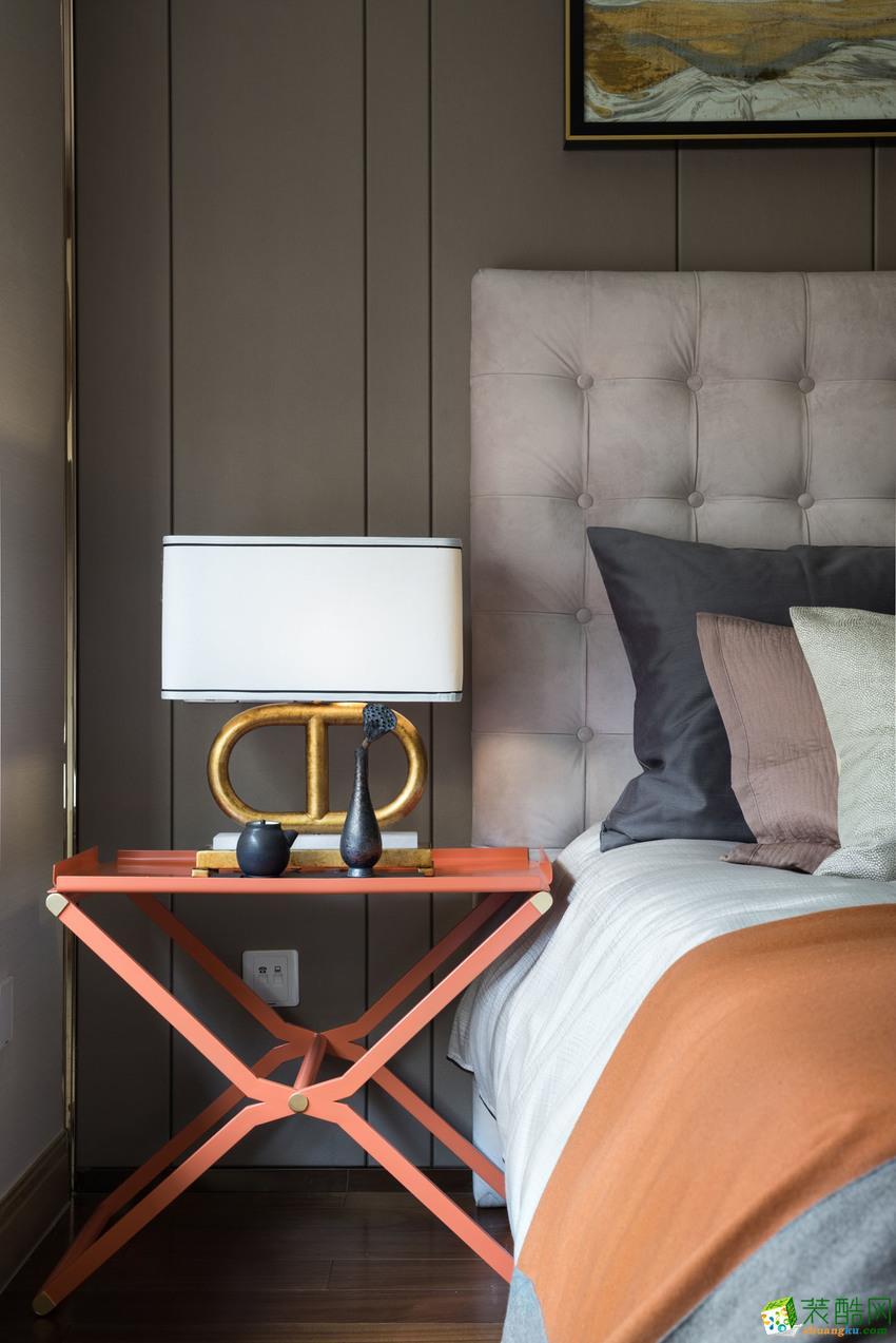 长沙三汇装饰-新中式两居室装修效果图
