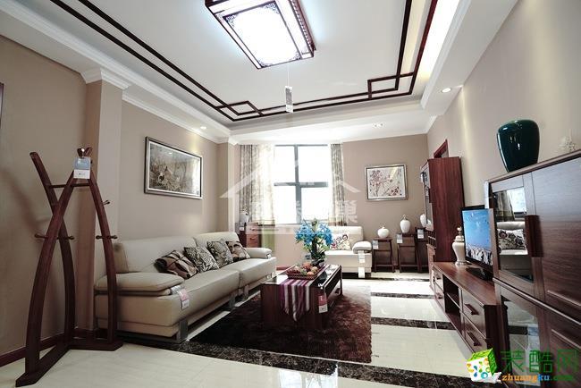 华帝金座|三居室|125�O|中式风格