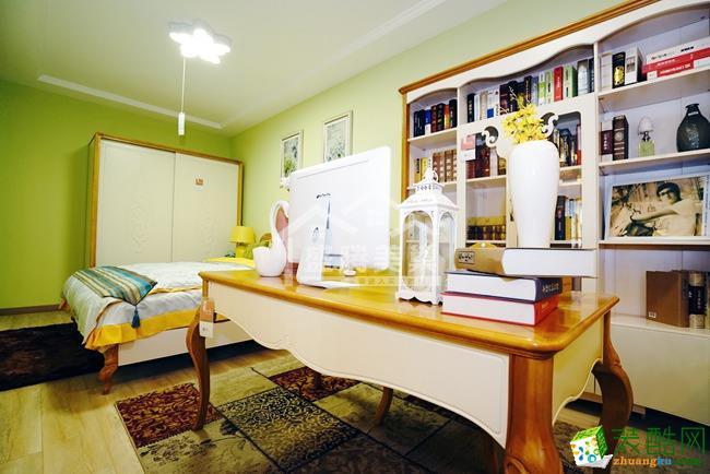 智慧美镇|三居室|128�O|欧式风格