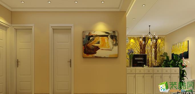 升龙城2号院106平米三居室现代简约风效果图赏析