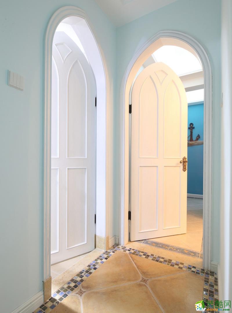 樂上名都裝飾—天縱半島藍灣173㎡地中海復式風格裝修案例