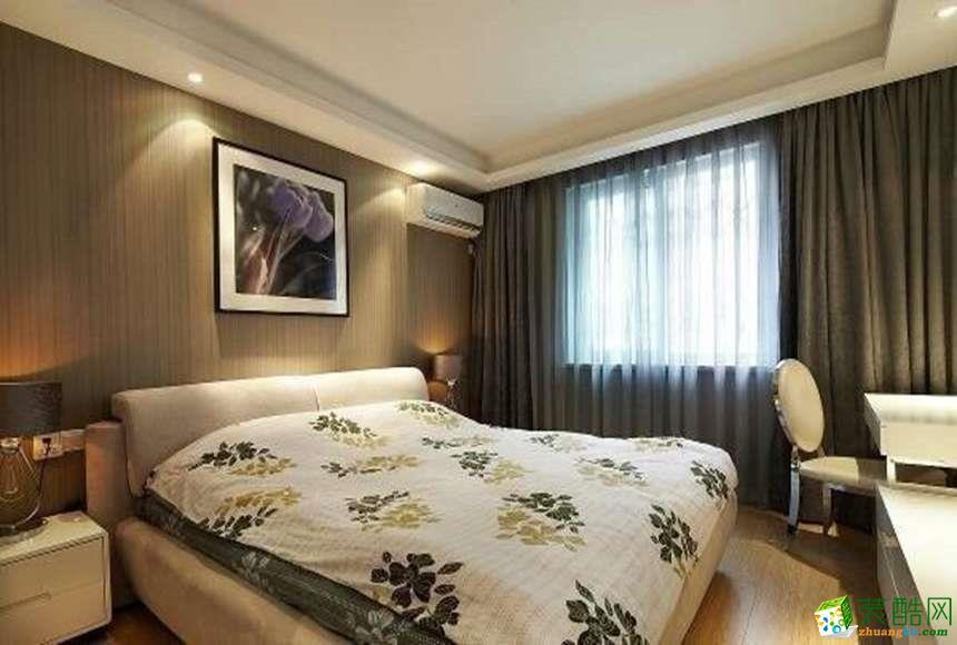 长沙立住装饰-现代两居室装修效果图