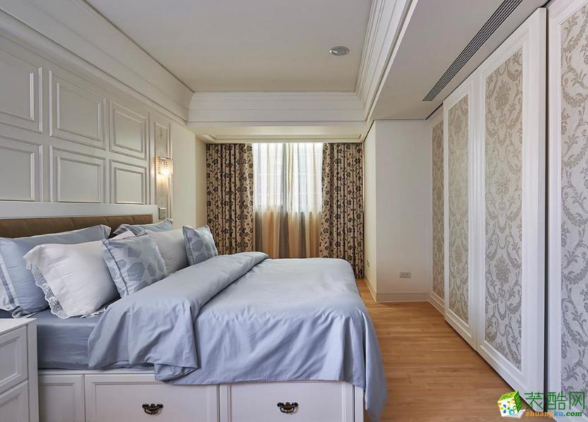 长沙立住装饰-现代简约三居室装修效果图