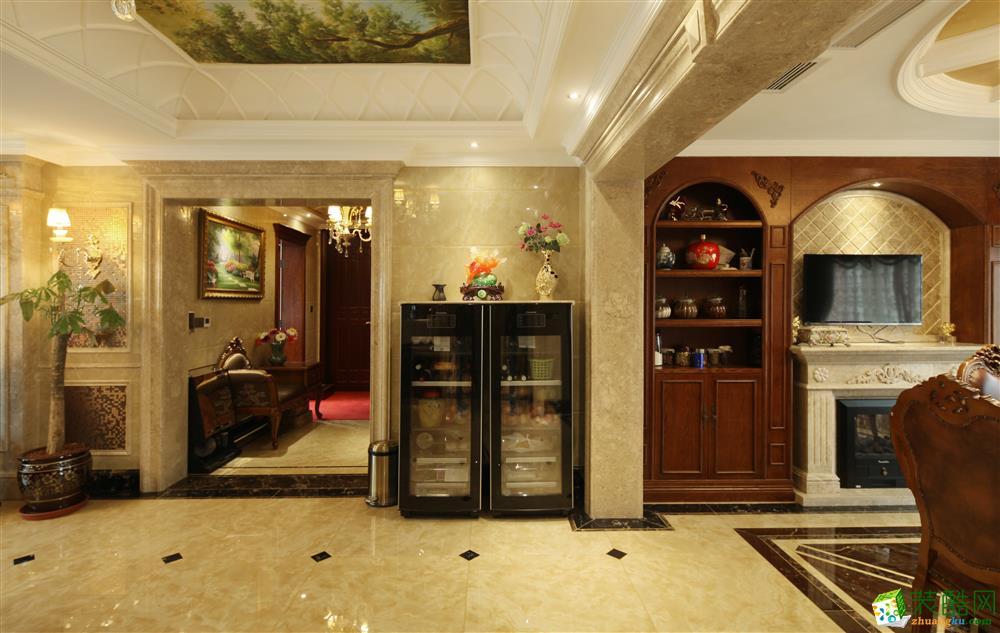 客厅 340平重庆恒大华府欧式风格设计实景图 重庆恒大华府欧式风格设计实景图