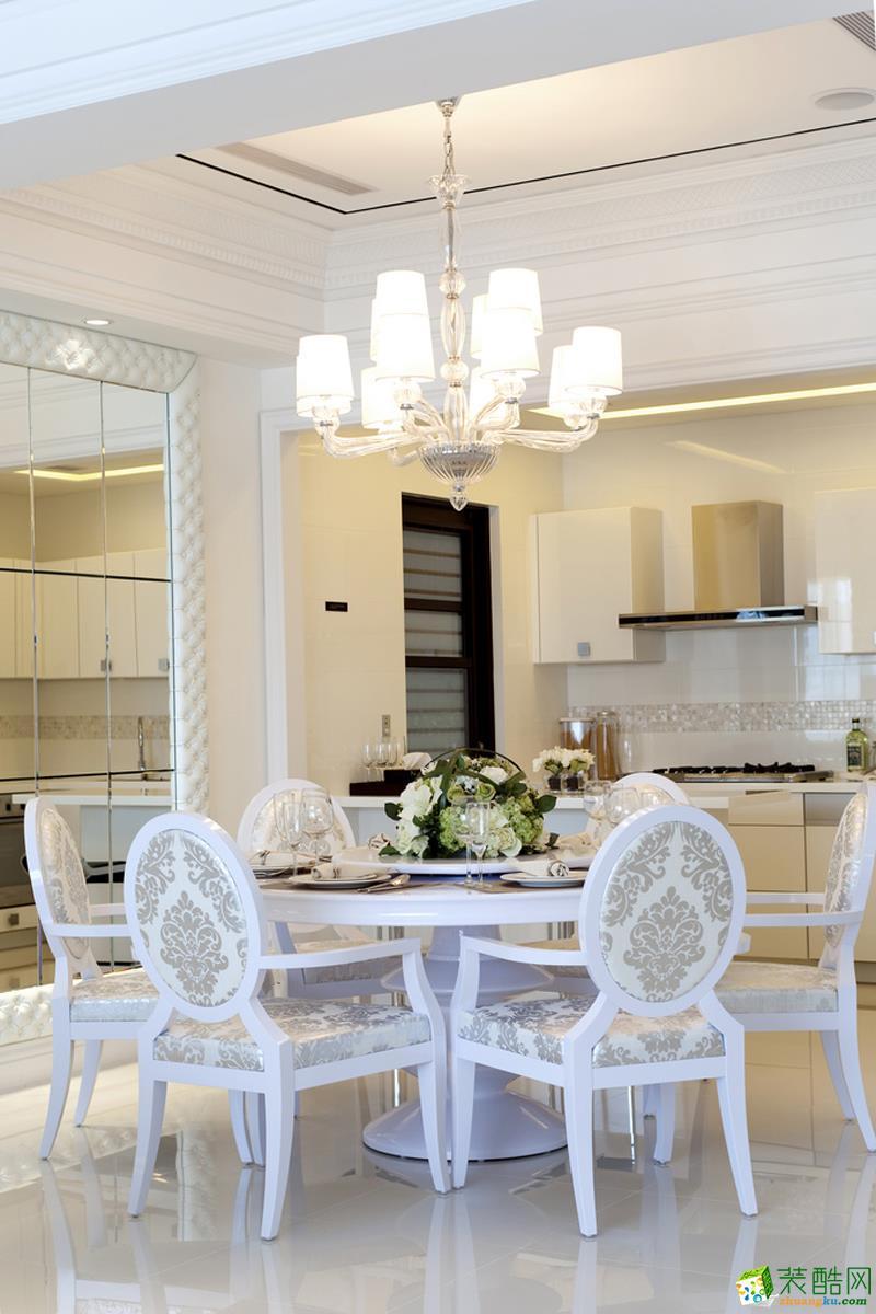 餐厅 24万整装112平三居室欧式装修效果图 龙湖两江新宸