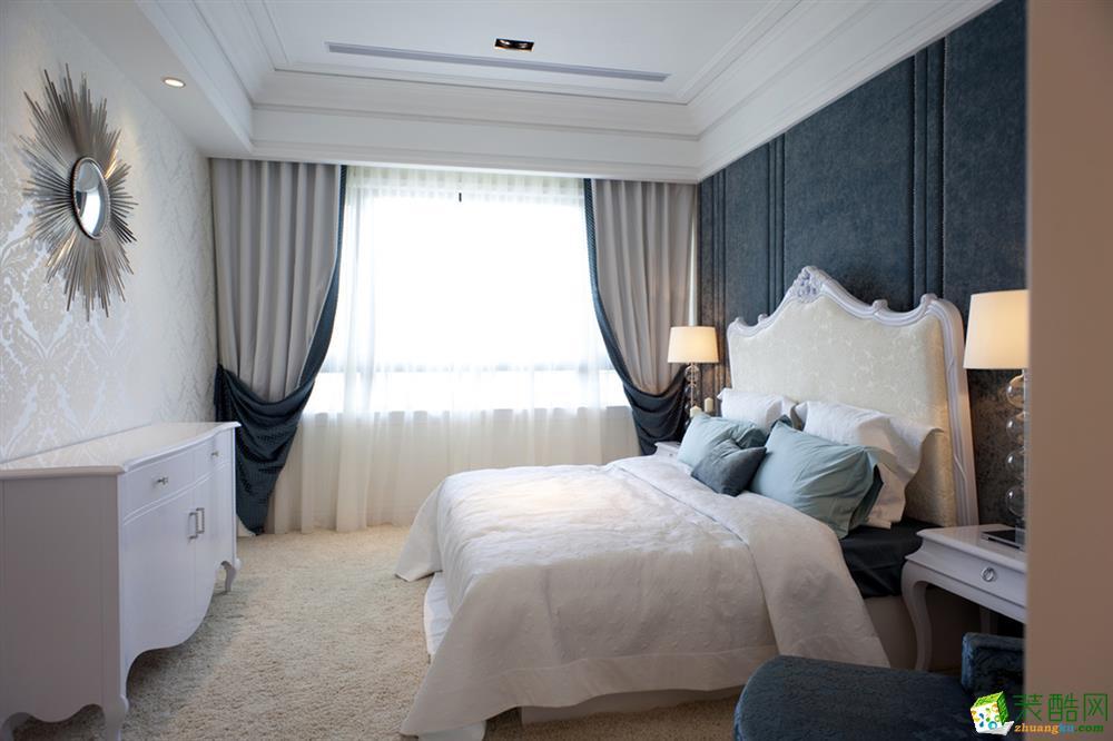 24万整装112平三居室欧式装修效果图