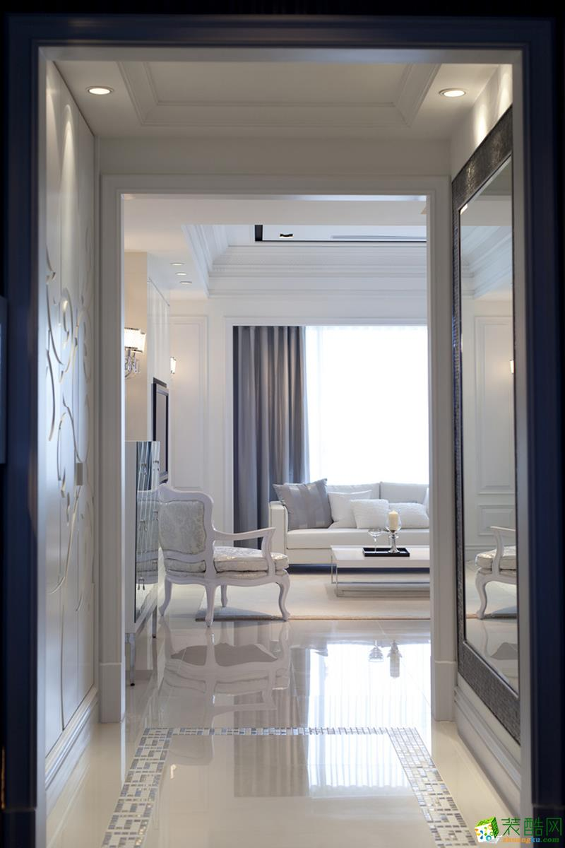 客厅 24万整装112平三居室欧式装修效果图 龙湖两江新宸