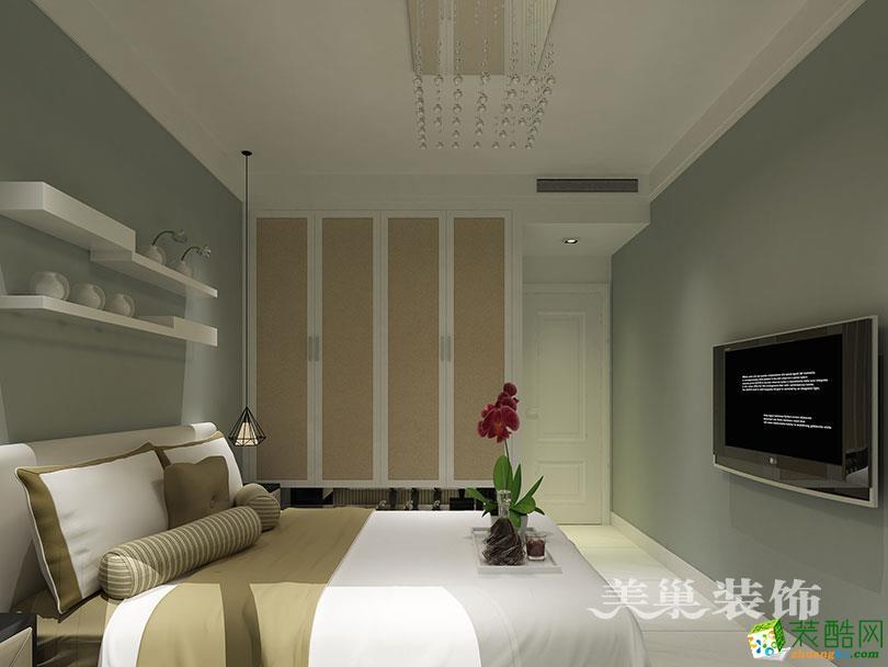 阳光城89平两室两厅现代简约装修样板间设计
