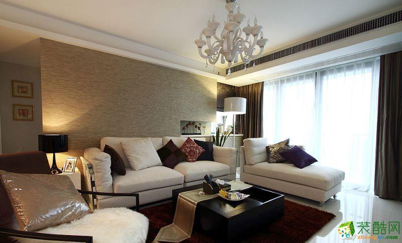 长沙优顺装饰-混搭三居室装修效果图