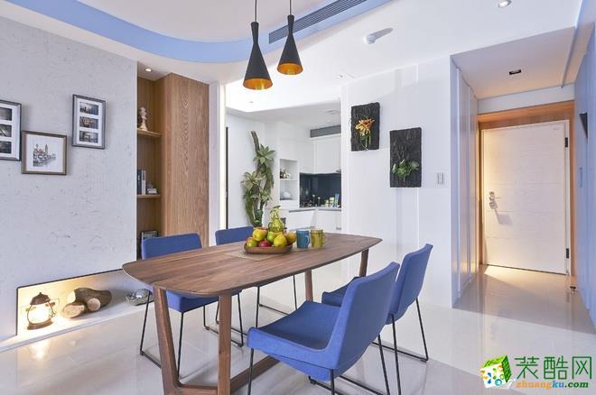 长沙优顺装饰-现代简约两居室装修效果图