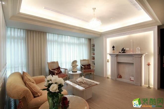 长沙优顺装饰-现代三居室装修效果图