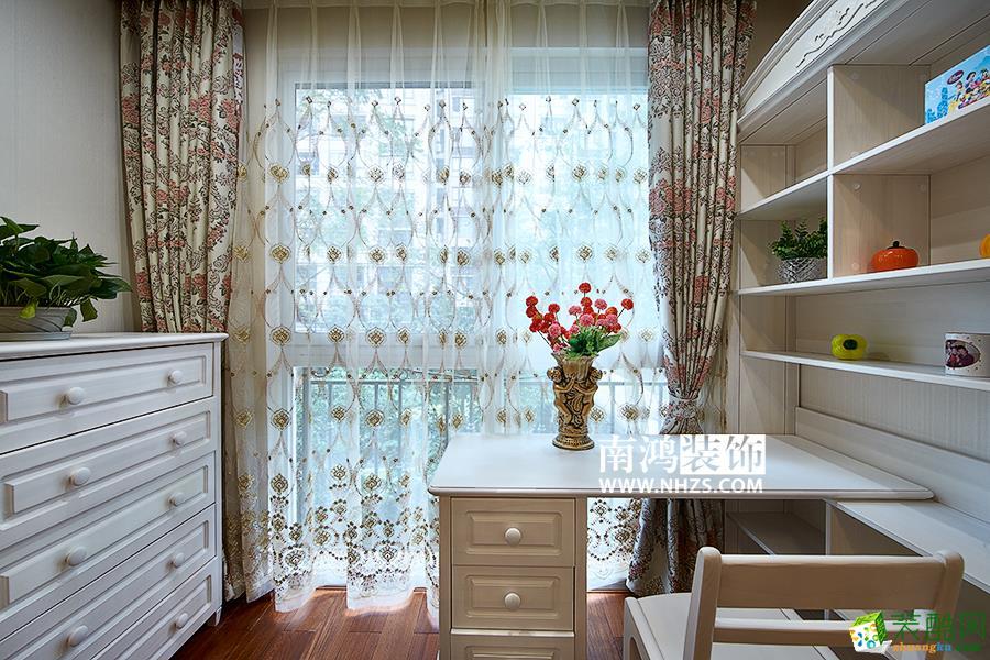 |南鸿装饰|龙湖滟澜山240方古典美式四室两厅装修效果图
