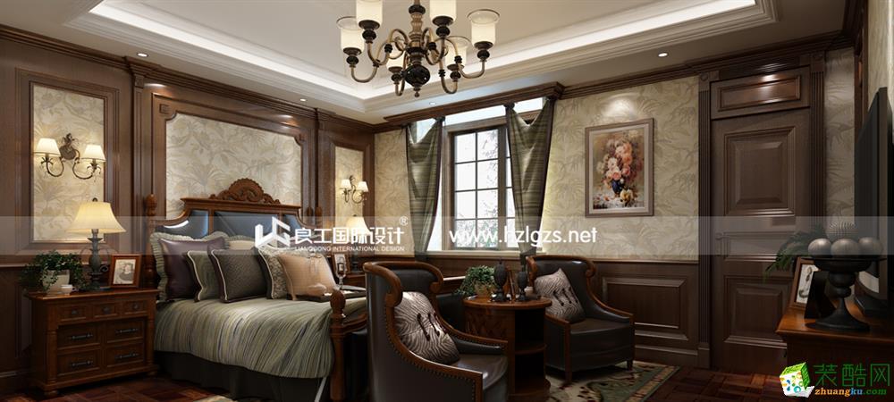 良工装饰―东海闲湖城460�O欧式风格装修案例