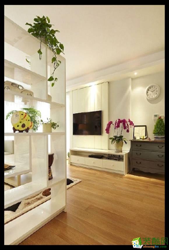 长沙市一米装饰-简约三居室装修效果图