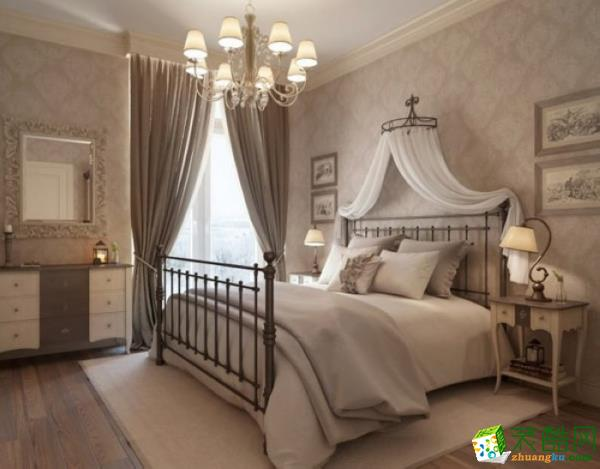 长沙市一米装饰-欧式三居室装修效果图