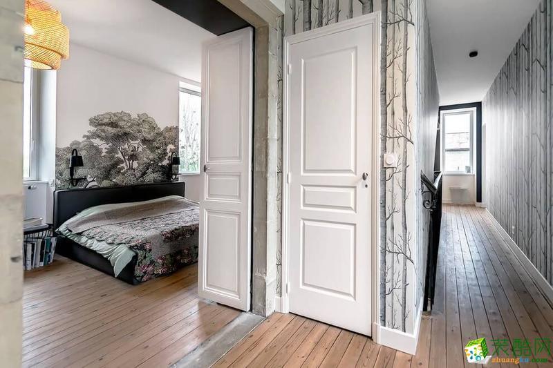 长沙市一米装饰-现代风格三居室装修效果图