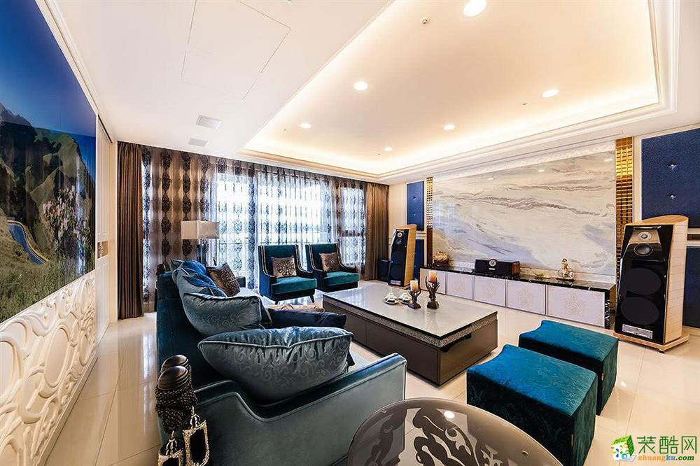 【尚品装饰】西式古典117平米三居室效果图案例