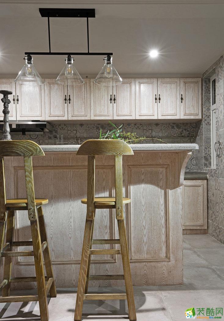长沙金创装饰-美式两居室装修效果图