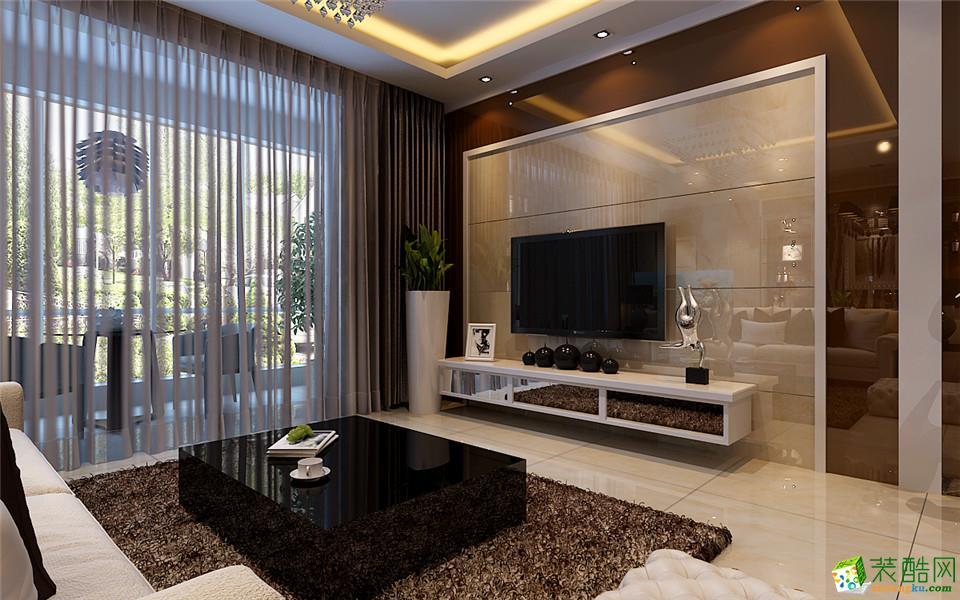 郑州一号家居网迎宾路3号三居室简欧风格装修效果图