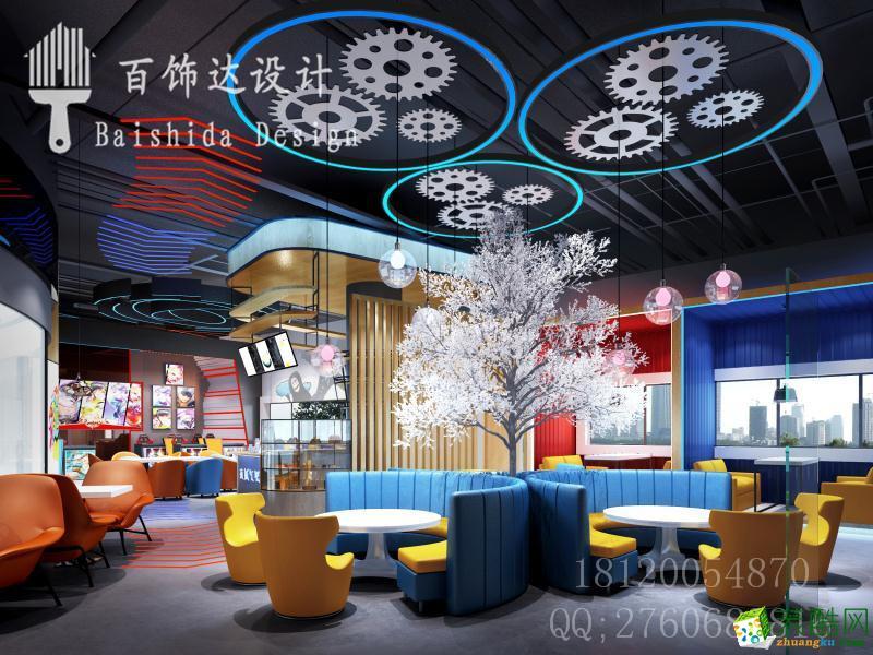 >> 休闲娱乐设计案例,娱乐空间效果图,桌游吧设计说明