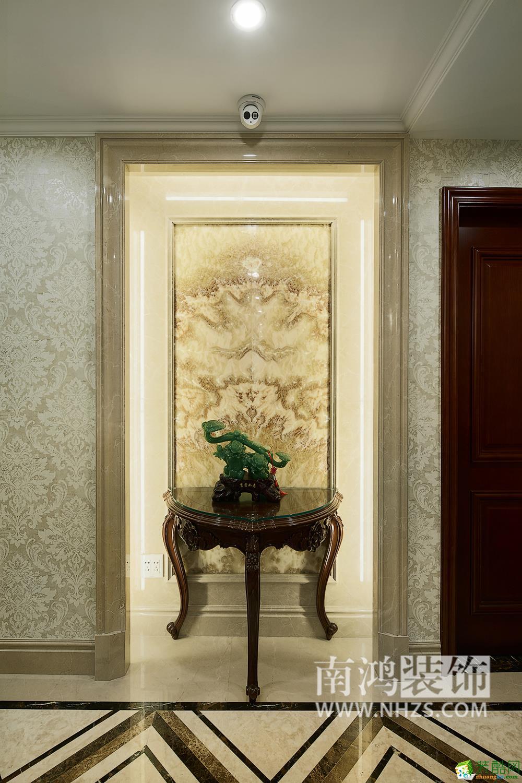 |南鸿装饰|金地自在城370方简欧风格别墅装修效果图