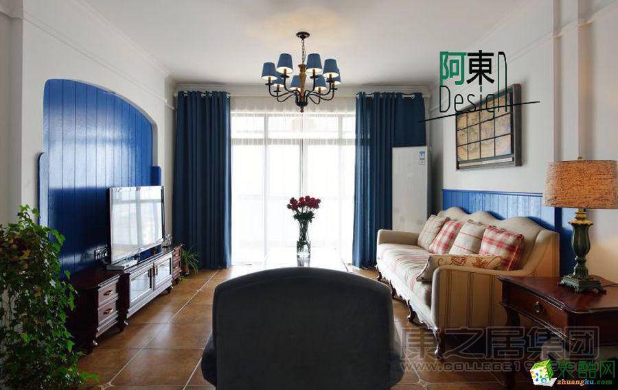 康之居装饰―莱蒙都会140平3室2厅美式