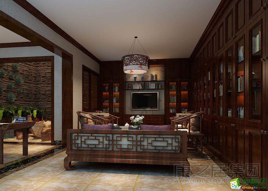 康之居装饰―公元九珑360平复式中式风格