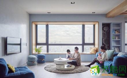 四居室150平方大客厅房子装修