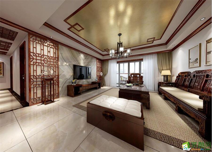 英泰装饰―汇和家园175�O中式风格案例