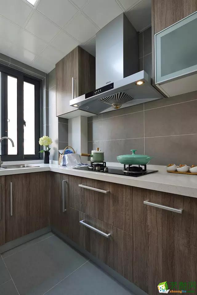 100平简约风两室两厅装修效果图-7万全包-厨房