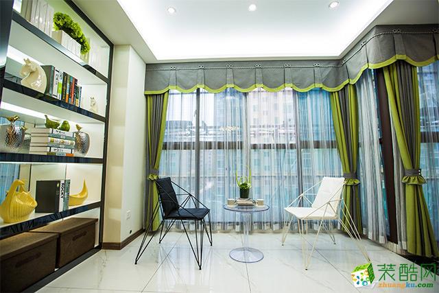 济南柠檬树装饰-现代三居室装修效果图