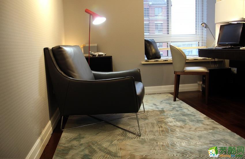长沙光之影装饰-现代简约三居室装修效果图
