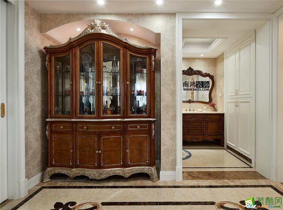 客厅 498平美式别墅精装效果图-客厅4 白云深处
