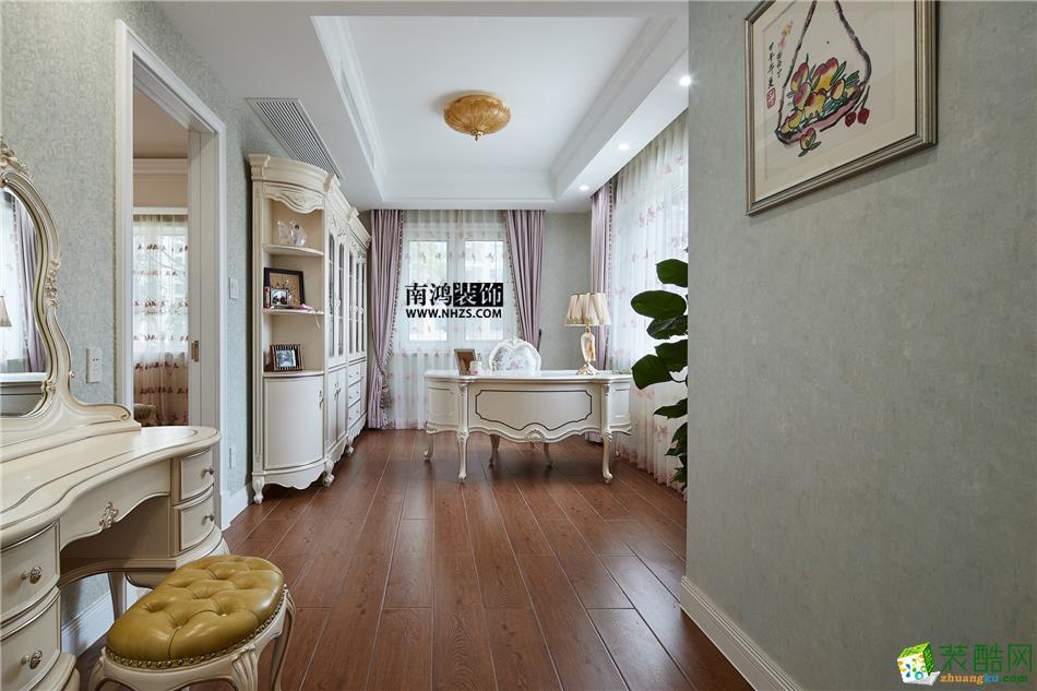 卧室 498平美式别墅精装效果图-卧室5 白云深处
