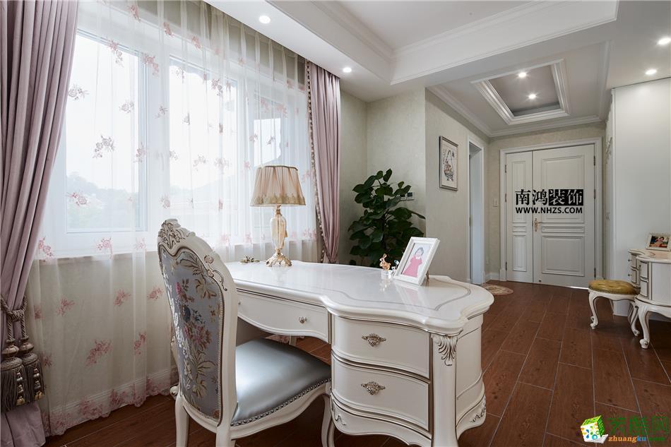 498平美式别墅精装效果图-卧室4 白云深处