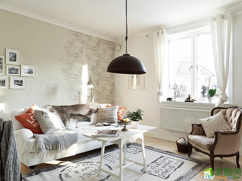 【百饰达装饰】北欧两居室装修案例