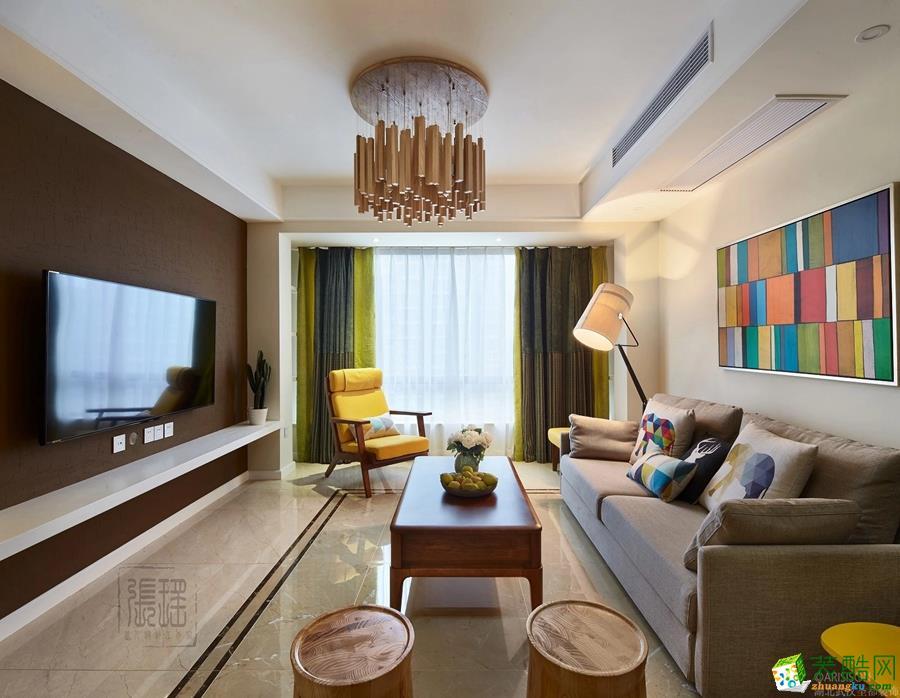客厅 圣都装饰―136�O简美三居室客厅 圣都装饰―136�O简美三居室