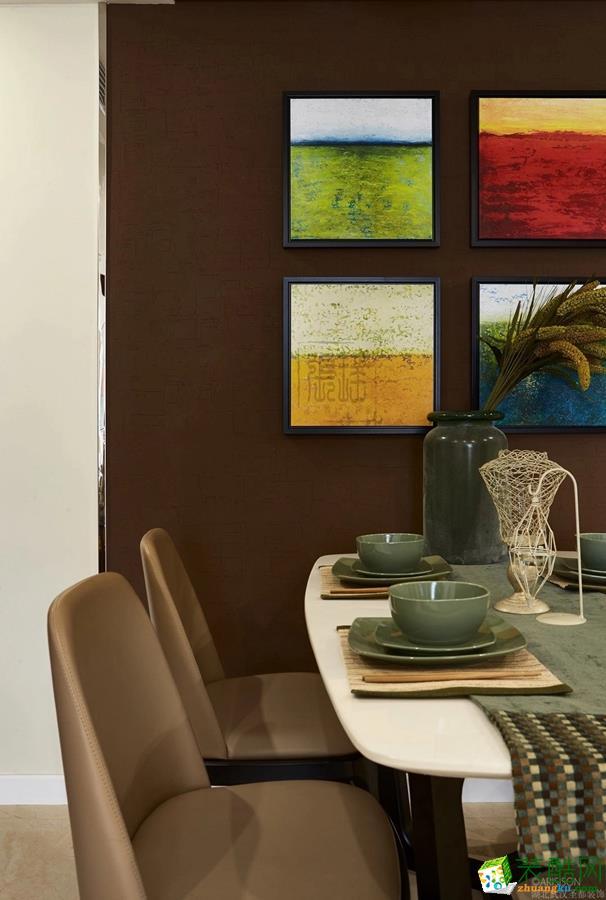餐厅 圣都装饰―136�O简美三居室餐厅 圣都装饰―136�O简美三居室