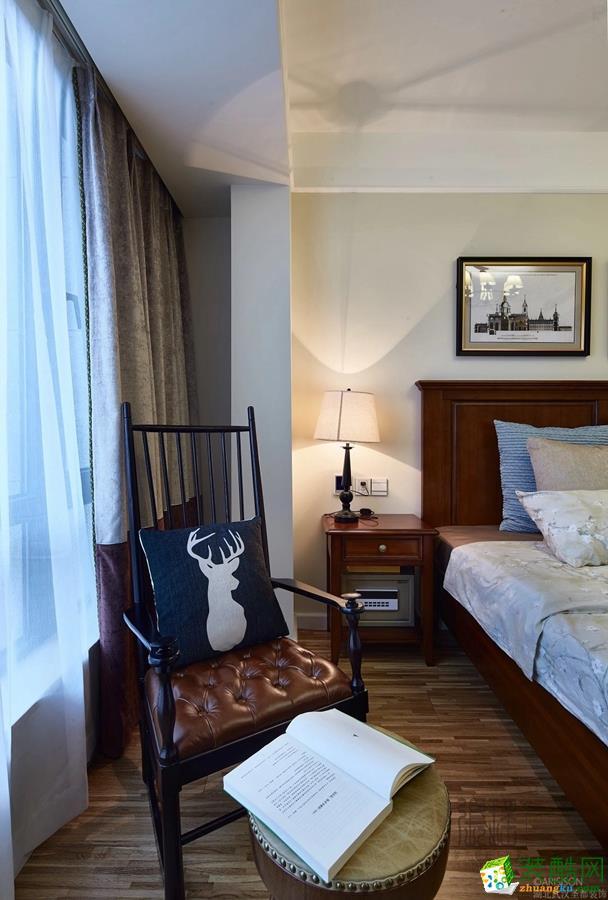 卧室 圣都装饰―136�O简美三居室卧室3 圣都装饰―136�O简美三居室