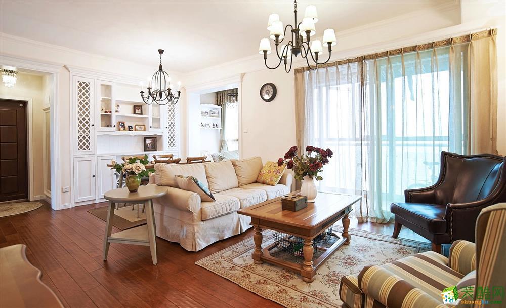客厅 北大资源-美式风格客厅装修4 北大资源