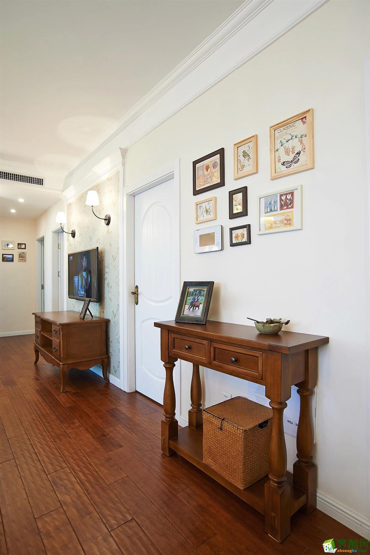 客厅 北大资源-美式风格客厅装修2 北大资源