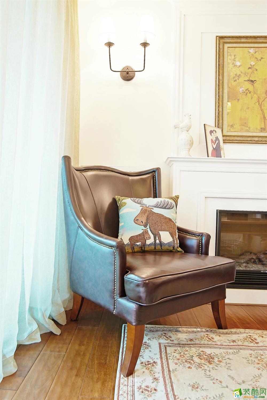 客厅 北大资源-美式风格客厅装修1 北大资源