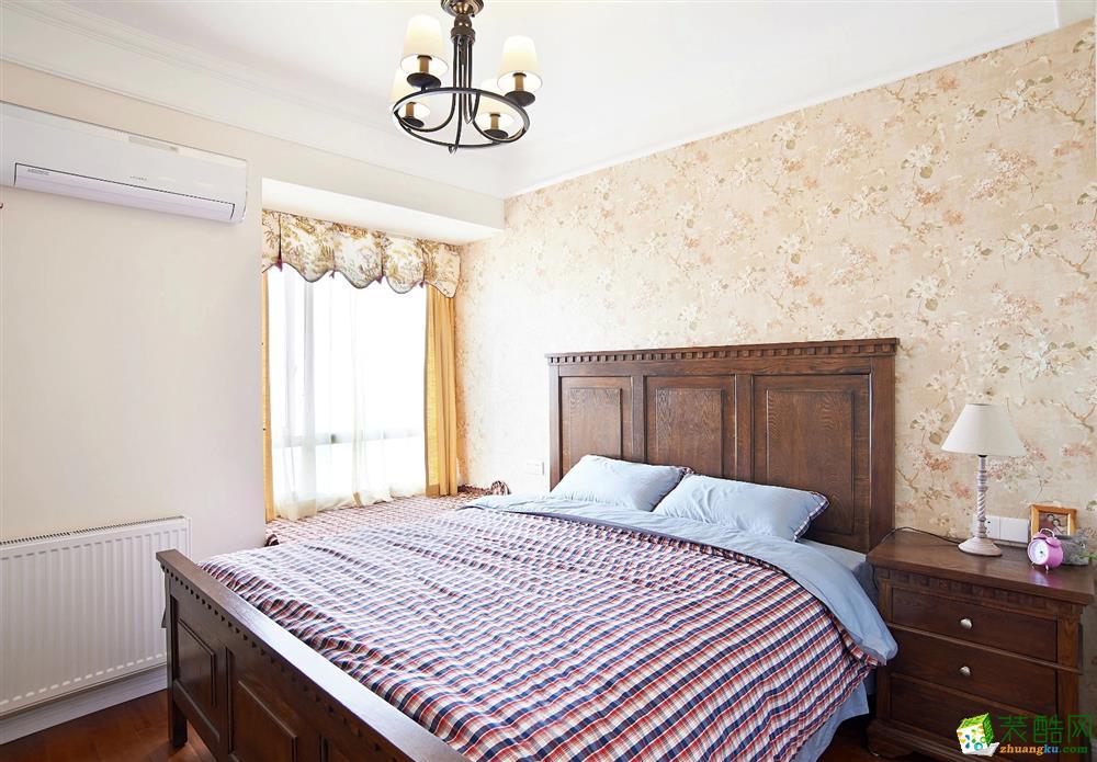 卧室 北大资源-美式风格卧室装修2 北大资源