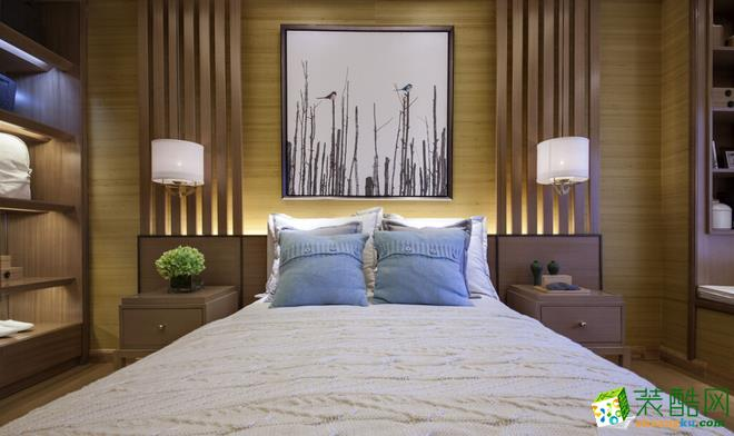 安康广美装饰-中式三居室装修效果图